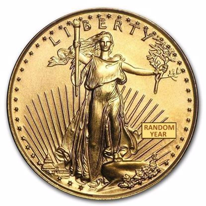 Picture of 1/10 oz American Gold Eagle (Random Year)
