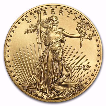 Picture of 2018 1/10 oz American Gold Eagle