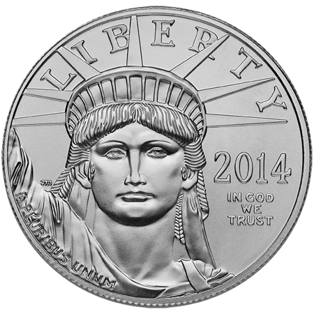 Picture for category 1 oz American Platinum Eagle