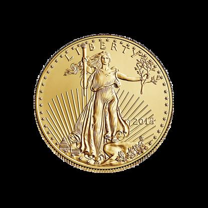 2018-1-4-oz-american-gold-eagle_obverse