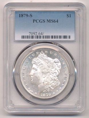Picture of Morgan Dollars PCGS/NGC MS64