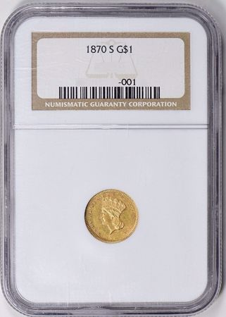 Picture for category Type 3 Indian Gold Dollar