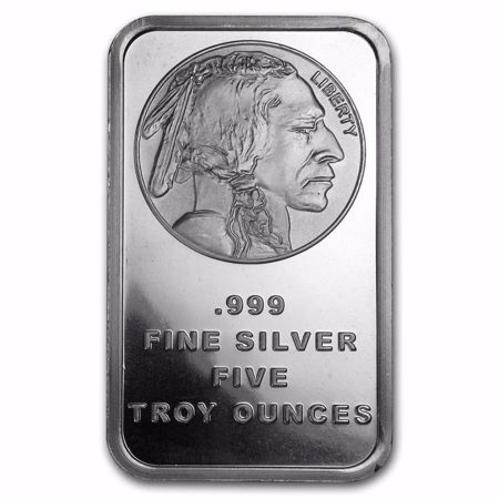 Picture for category 5 oz Silver Bars