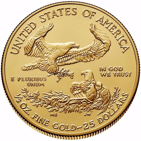 Picture for category 1/2 oz American Gold Eagle
