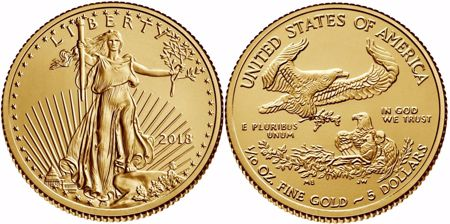 Picture for category 1/10 oz American Gold Eagle