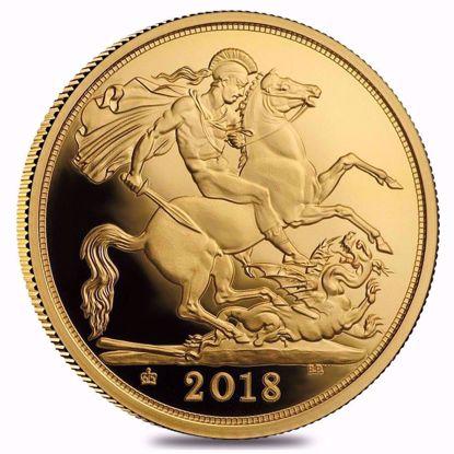 Picture of 2018 British Gold Sovereign Queen Elizabeth II