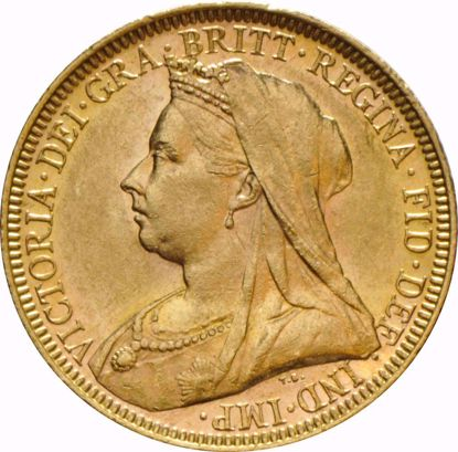 Picture of British Gold Sovereign Old Head (Random Year)