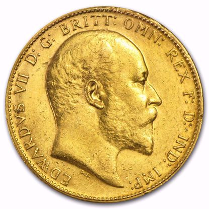 Picture of British Gold Sovereign King Edward