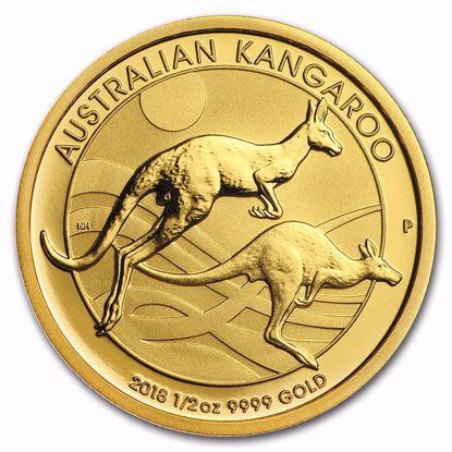Picture of 2018 1/2 oz Australian Gold Kangaroo