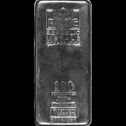 100-oz-republic-metals-corporation-silver-bar_obverse