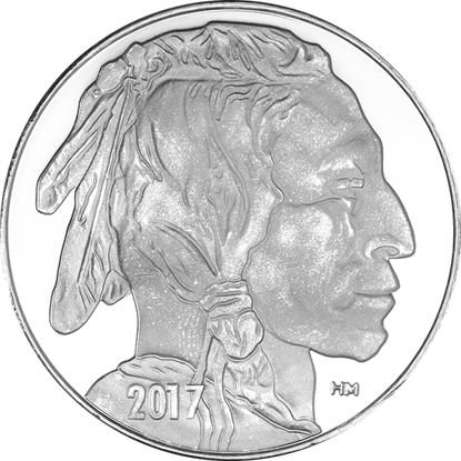 1-oz-buffalo-design-silver-round--highland-mint-_obverse