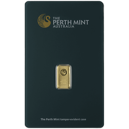Picture of 1 gr Perth Mint Gold Bar
