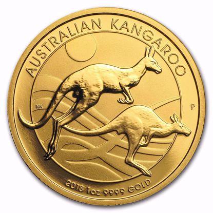 Picture of 2018 1 oz Australian Gold Kangaroo