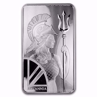 Picture of 100 oz Royal Mint Britannia Silver Bar