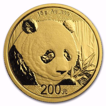 Picture of 2018 15 gr Chinese Gold Panda