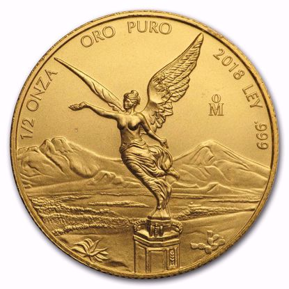 Picture of 2018 1/2 oz Mexican Gold Libertad