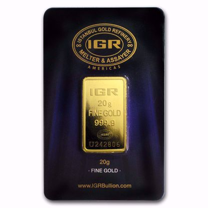 Picture of 20 gr Gold Bar (Secondary Market)