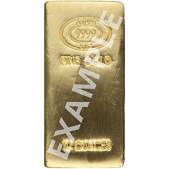 Picture of 10 oz Gold Bar (Secondary Market)