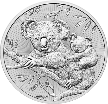 Picture of 2018 2 oz Australian Silver Koala Mother and Baby