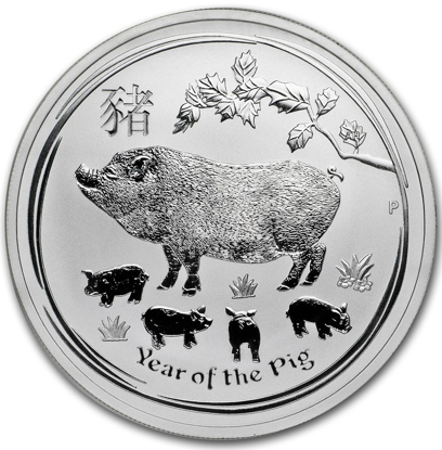 Picture of 2019 1 oz Australian Silver Pig