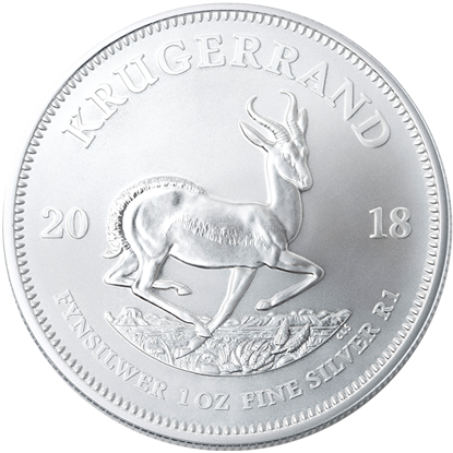 Picture of 2018 1 oz South African Silver Krugerrand