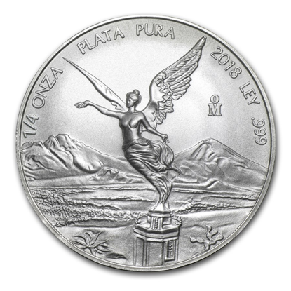 Picture of 2018 1/4 oz Mexican Silver Libertad