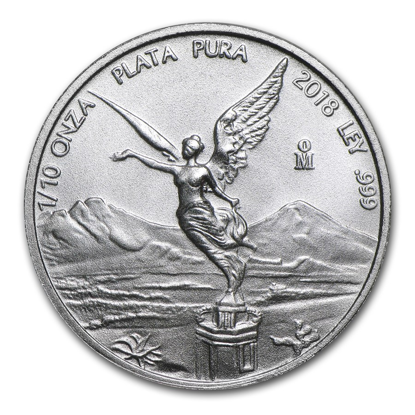 Picture of 2018 1/10 oz Mexican Silver Libertad