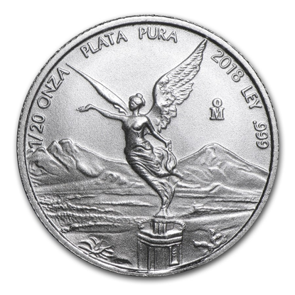 Picture of 2018 1/20 oz Mexican Silver Libertad
