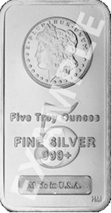 Picture of 5 oz Silver Bar