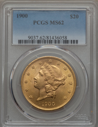 Picture of (1849-1907) $20 Liberty Gold PCGS/NGC MS62 (Random Year)