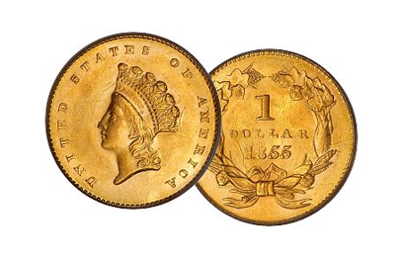 Picture for category Type 2 Indian Gold Dollar
