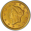 Picture of (1849-1854) $1 Gold Liberty Head Type 1 AU (Random Year)