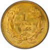 Picture of (1854-1856) $1 Gold Indian Head Type 2 BU (Random Year)