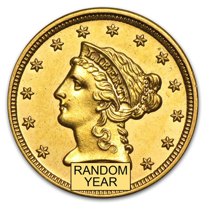 Picture of $2.50 Gold Liberty AU (1840-1907) (Random Year)