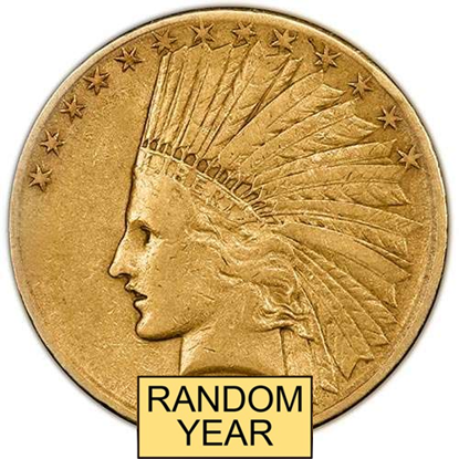 Picture of (1907-1933) $10 Gold Indian VF (Random Year)