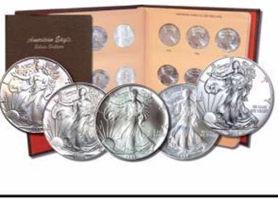 Picture of 1986-2019 Complete Silver Eagle Date Set Brilliant Uncirculated