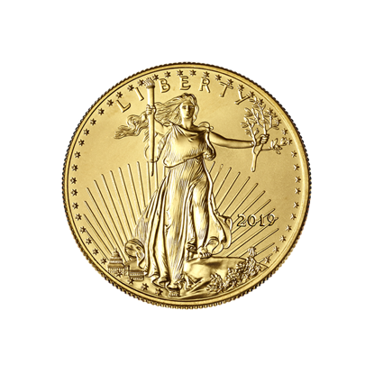 Picture of 2019 1/4 oz American Gold Eagle