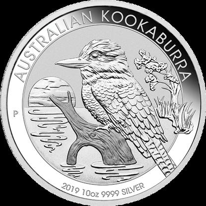 Picture of 2019 10 oz Australian Silver Kookaburra