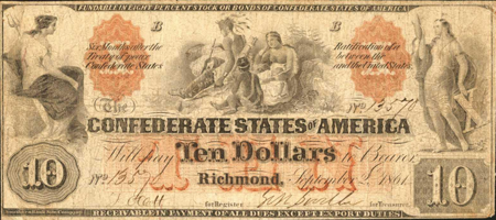 Picture for category Confederate Notes