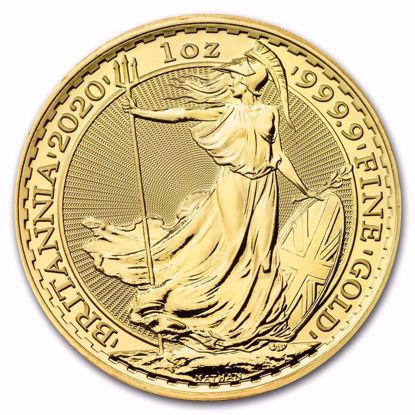 Picture of 2020 1 Oz Great Britain Gold Britannia
