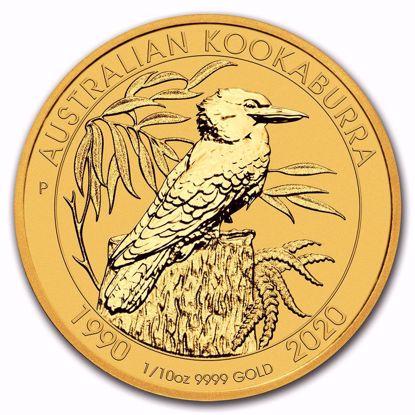 Picture of 2020 1/10 Oz Gold Kookaburra