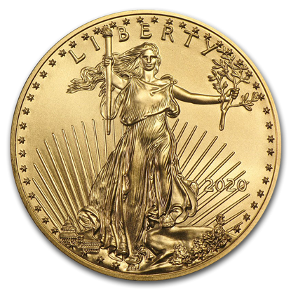 Picture of 2020 1/4 Oz American Gold Eagle