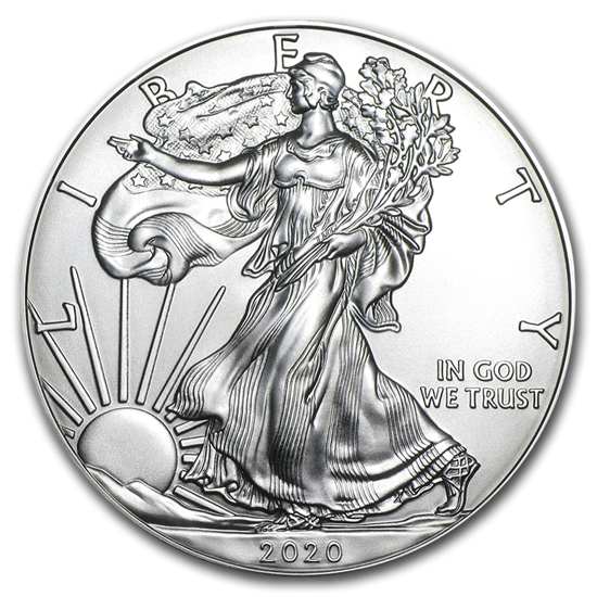 Picture of 2020 1 Oz American Silver Eagle