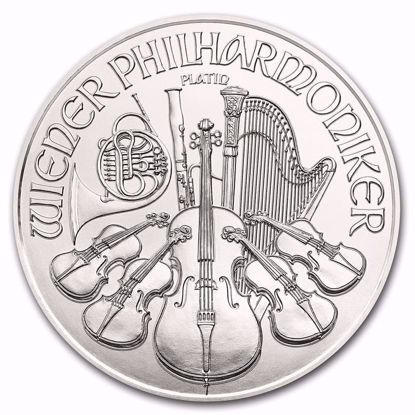 Picture of 2020 1 Oz Austrian Platinum Philharmonic