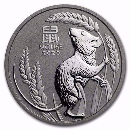 Picture of 2020 1 Oz Perth Mint Platinum Lunar Mouse