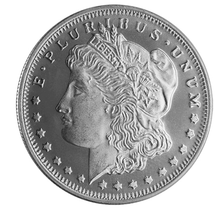 Picture for category 1/2 oz Silver Rounds