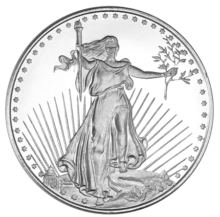 Picture for category 1 oz Silver Rounds