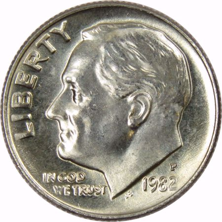 Picture for category Roosevelt Dime (1946 to Date)