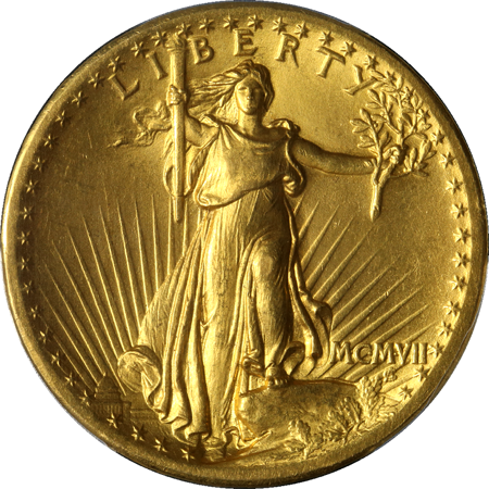 Picture for category St. Gaudens $20 (1907-1933)