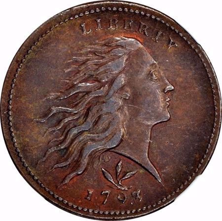 Picture for category Flowing Hair Large Cent (1793)